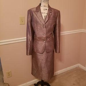 Kasper dressy skirt suit